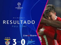 Highlights Benfica vs Zenit Petersburg 11-12-2019