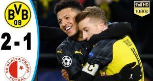 Highlights Borussia Dortmund vs Slavia Prague 11-12-2019