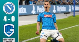 Highlights Napoli vs Genk