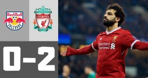 Highlights Salzburg vs Liverpool 11-12-2019