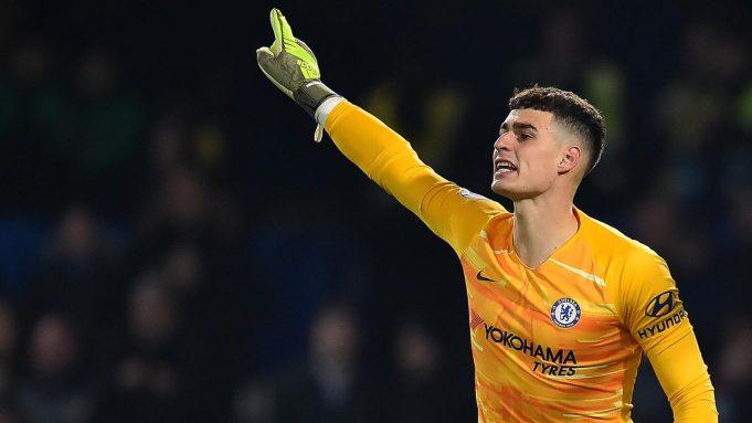 Kepa Arrizabalaga (Chelsea) - Kiper asal Spanyol ini sudah menunjukkan kelasnya di musim pertama membela Chelsea. Di Liga Inggris 2018-2019, Kepa turun di 36 pertandingan dengan catatan 14 clean sheet