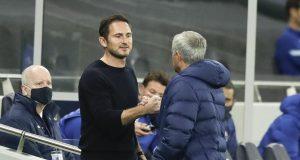 Frank Lampard (kiri) dan Jose Mourinho
