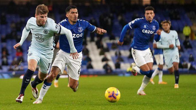 Chelsea menelan kekalahan 0-1 dari Everton pada laga pekan ke-12 Premier League di Goodison Park, Minggu (13/12/2020) dini hari WIB.