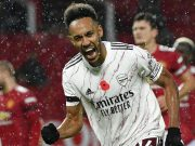 Striker Arsenal, Pierre-Emerick Aubameyang.