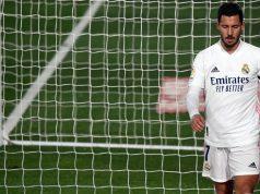 Winger Real Madrid, Eden Hazard. (AFP/PIERRE-PHILIPPE MARCOU)