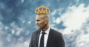 King of zinedine zidane